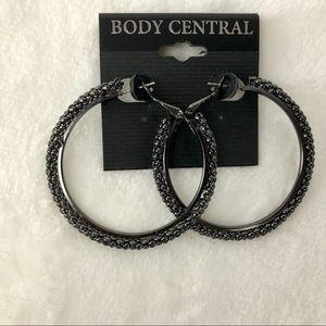 Body Central Hoop Earrings NEW